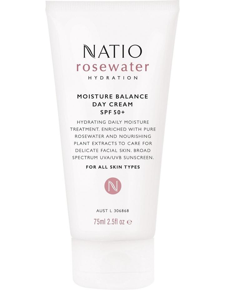 Rosewater Hydration Moisture Balance Day Cream SPF 50  image 1