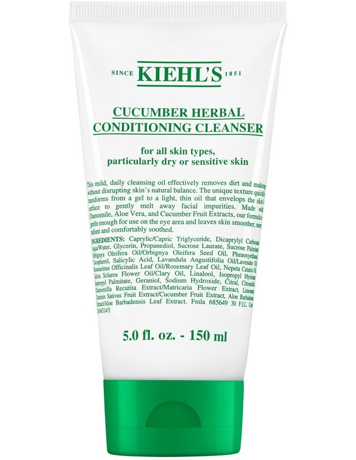 Cucumber Herbal Conditioning Cleanser image 1