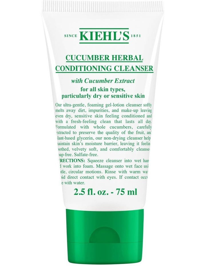 Cucumber Herbal Conditioning Cleanser image 2
