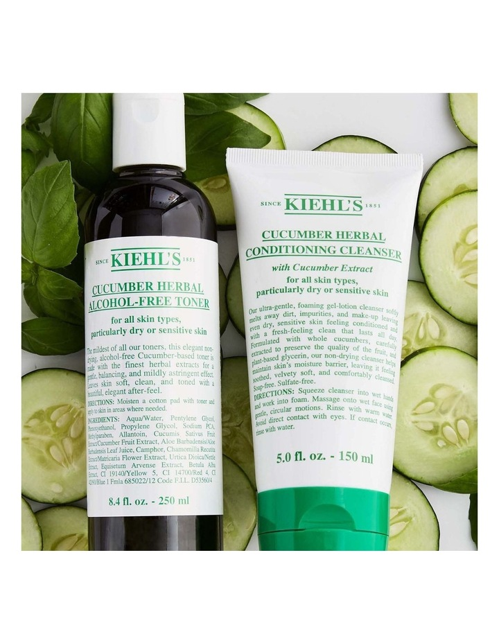 Cucumber Herbal Conditioning Cleanser image 3
