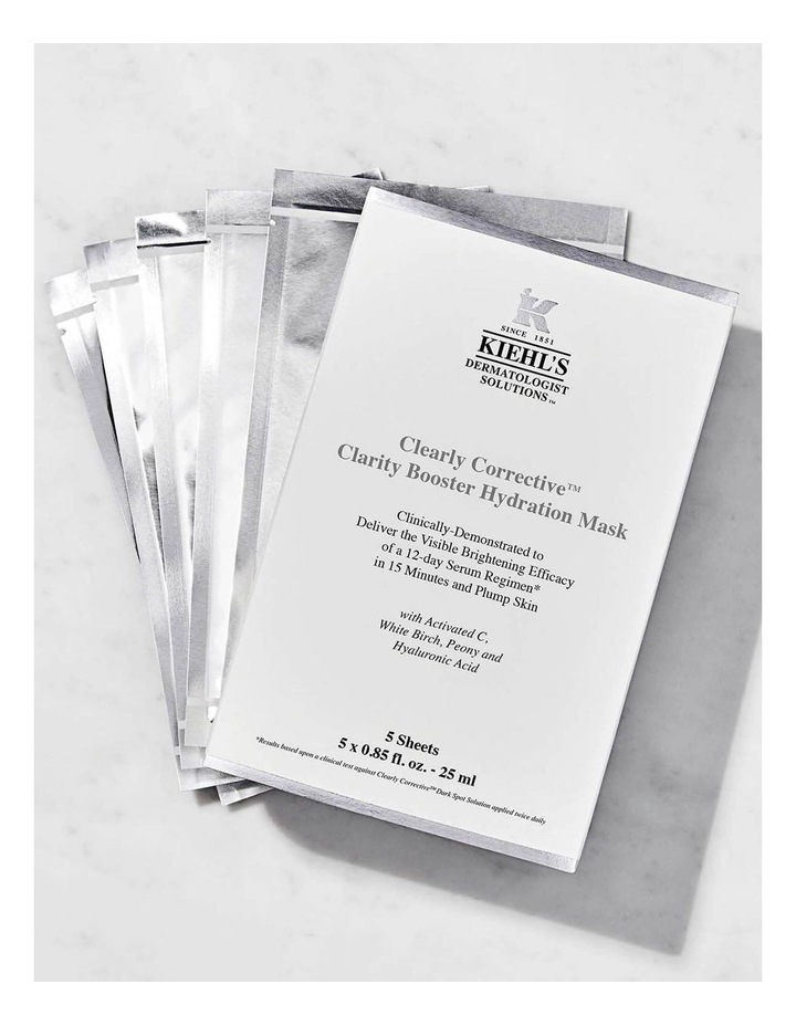 Clearly Corrective Dark Spot Mask Box of 5 image 2