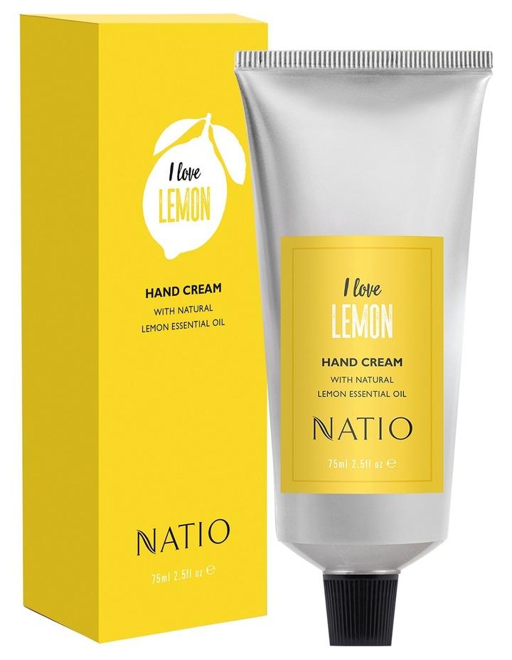 I Love Lemon Hand Cream 75ml image 1