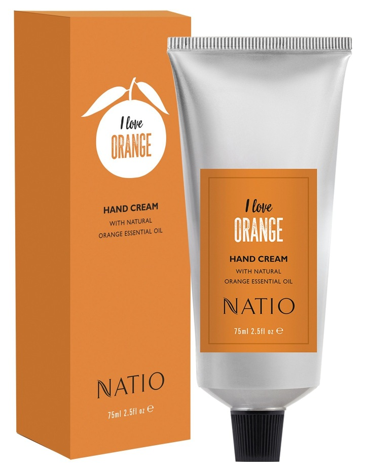 I Love Orange Hand Cream 75ml image 1
