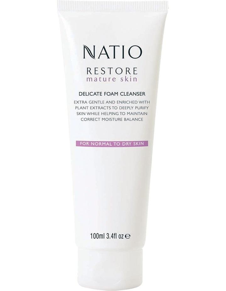 Restore Mature Skin Delicate Foam Cleanser image 1