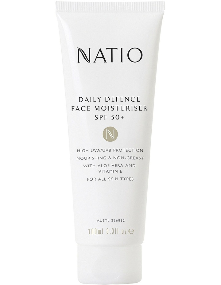 Daily Defence Face Moisturiser SPF 50  image 1