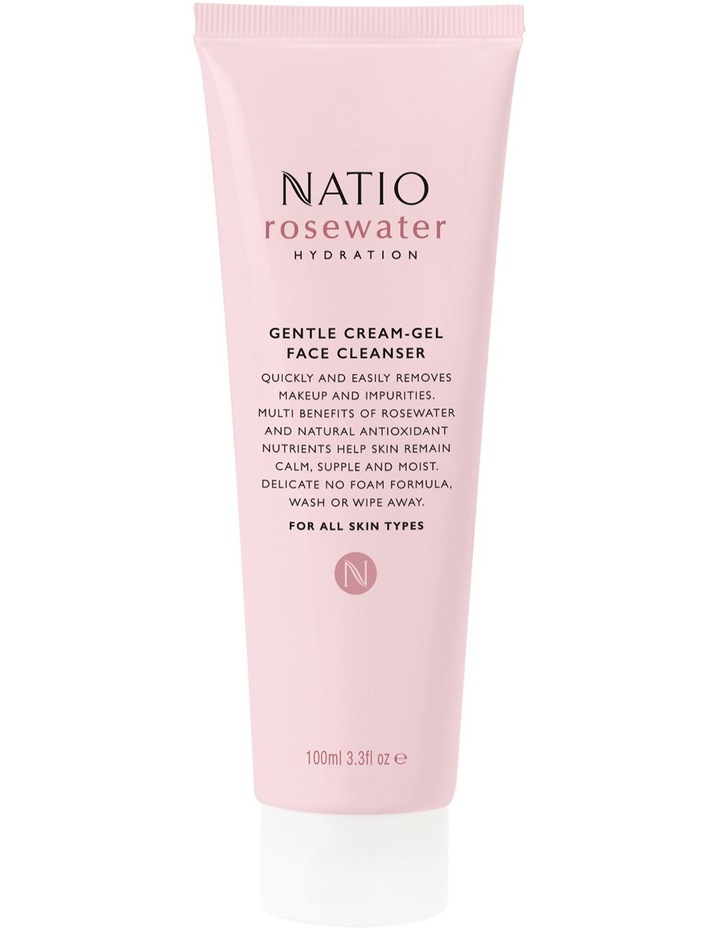 Rosewater Hydration Gentle Cream-Gel Face Cleanser image 1
