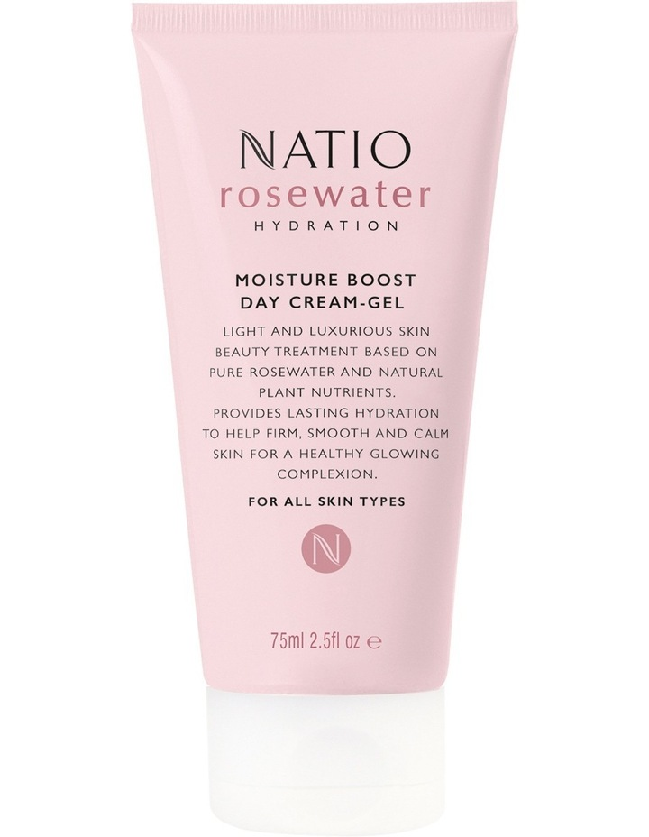 Rosewater Hydration Moisture Boost Day Cream-Gel image 1