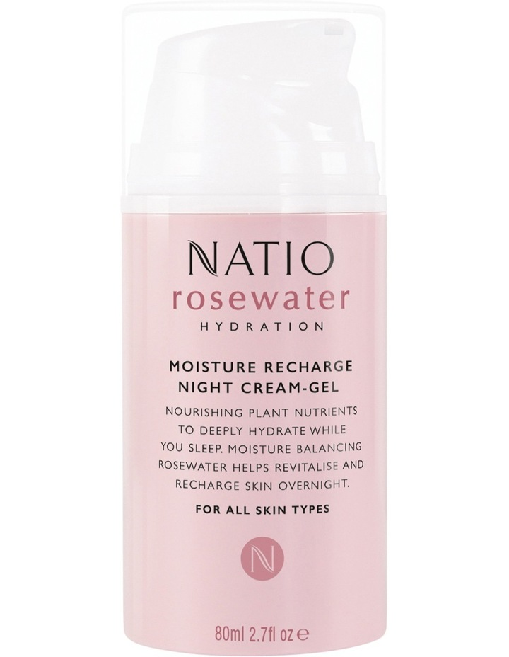 Rosewater Hydration Moisture Recharge Night Cream-Gel image 1