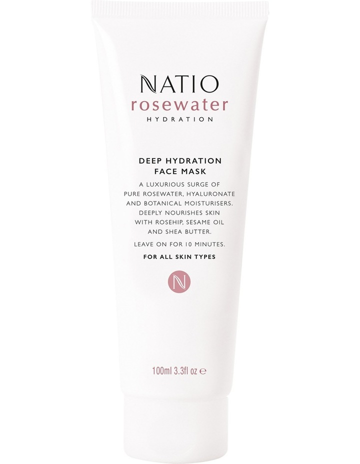 Rosewater Hydration 10 Minute Deep Hydration Face Mask image 1