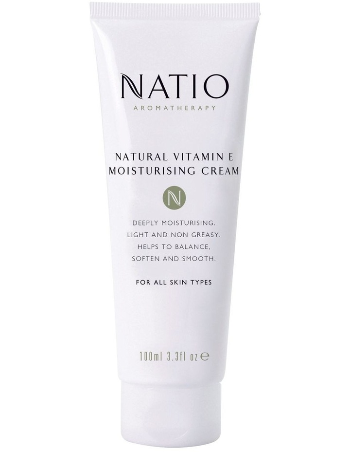 Natural Vitamin E Moisturising Cream in Tube image 1