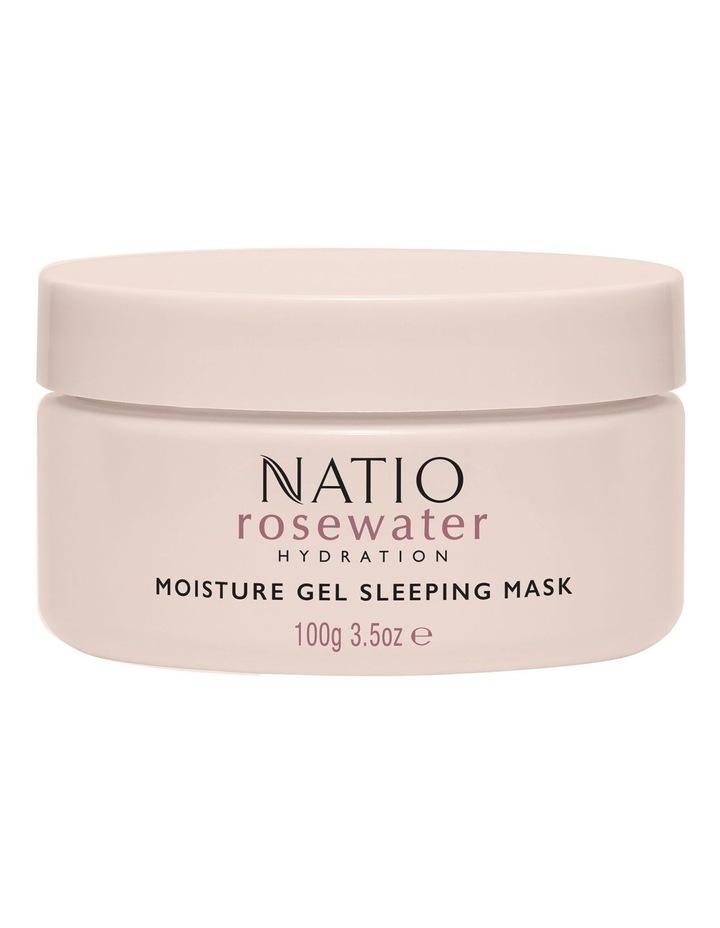 Rosewater Hydration Moisture Gel Sleeping Mask 100g image 1