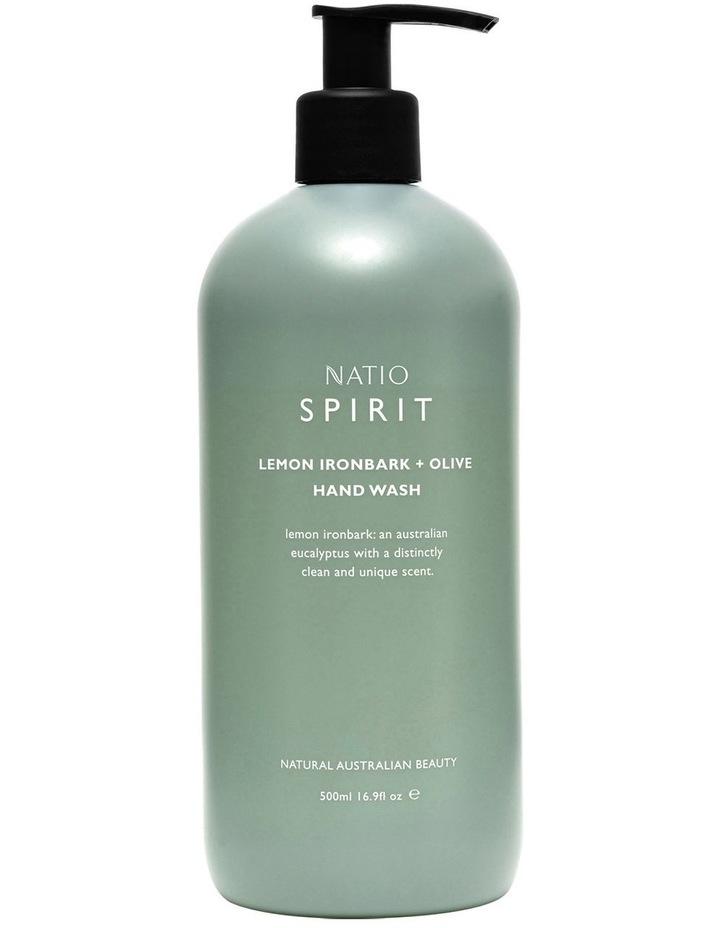 Spirit Lemon Ironbark   Olive Hand Wash image 1