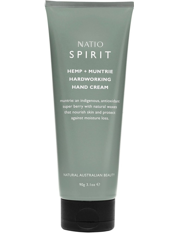 Spirit Hemp   Muntrie Hardworking Hand Cream image 1