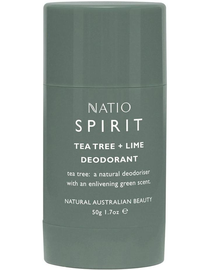 Spirit Tea Tree & Lime Deodorant 50g image 1