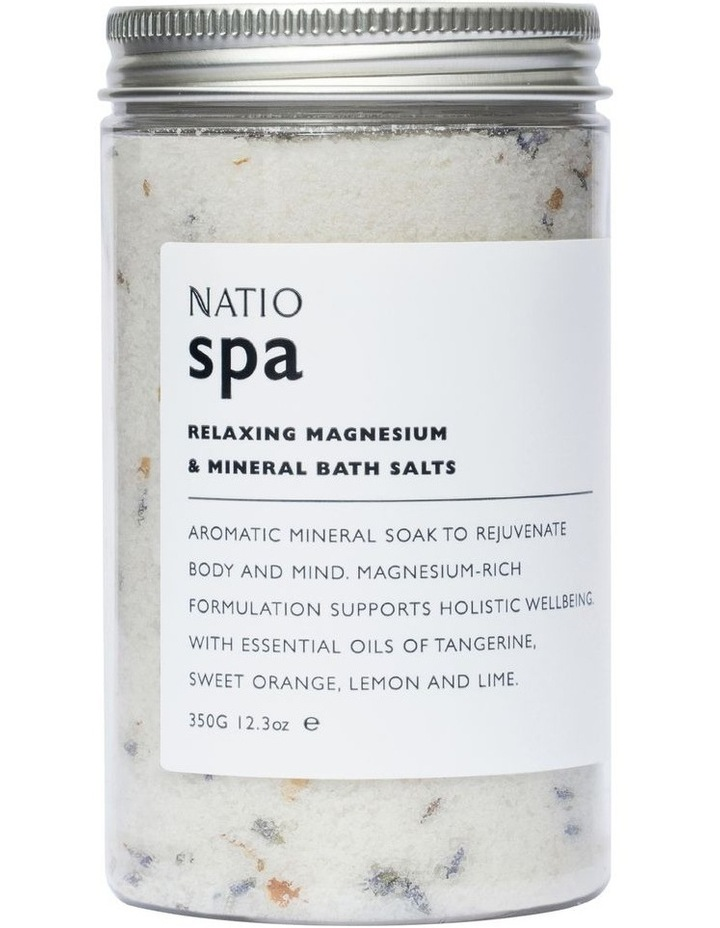 Spa Relaxing Magnesium & Mineral Bath Salts 350g image 1