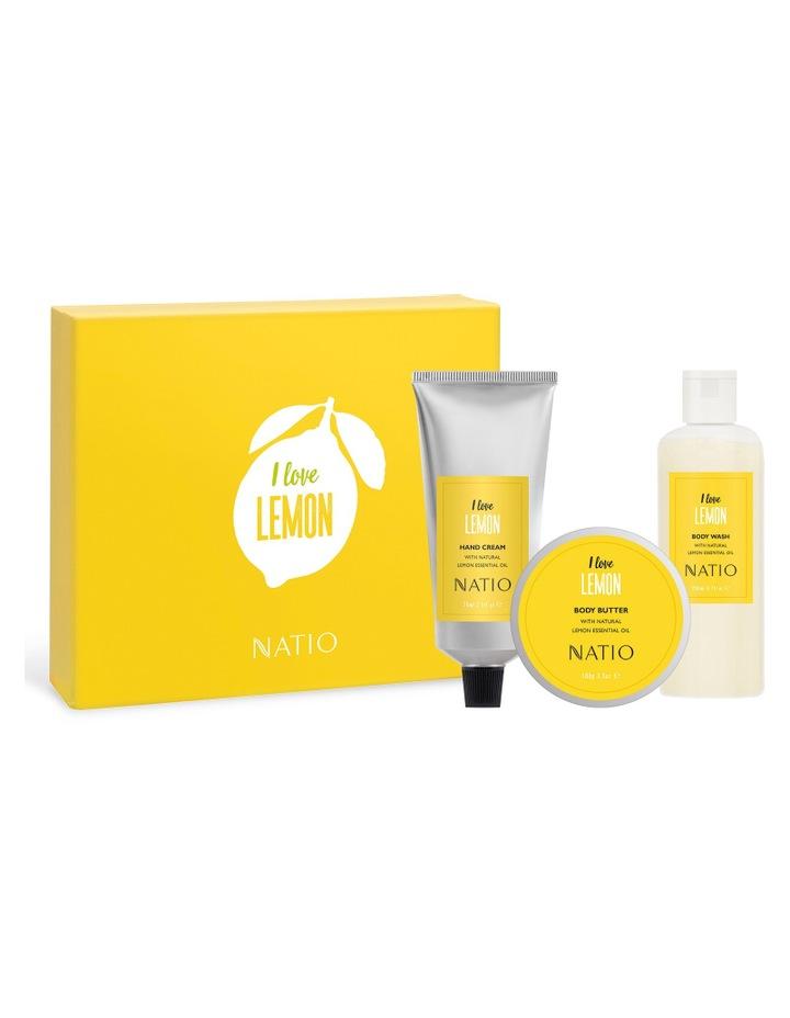 I love Lemon' - I love Citrus Gift Set image 1