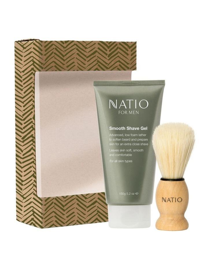 Tidy Natio for Men w/ Shave Brush Gift Set image 1