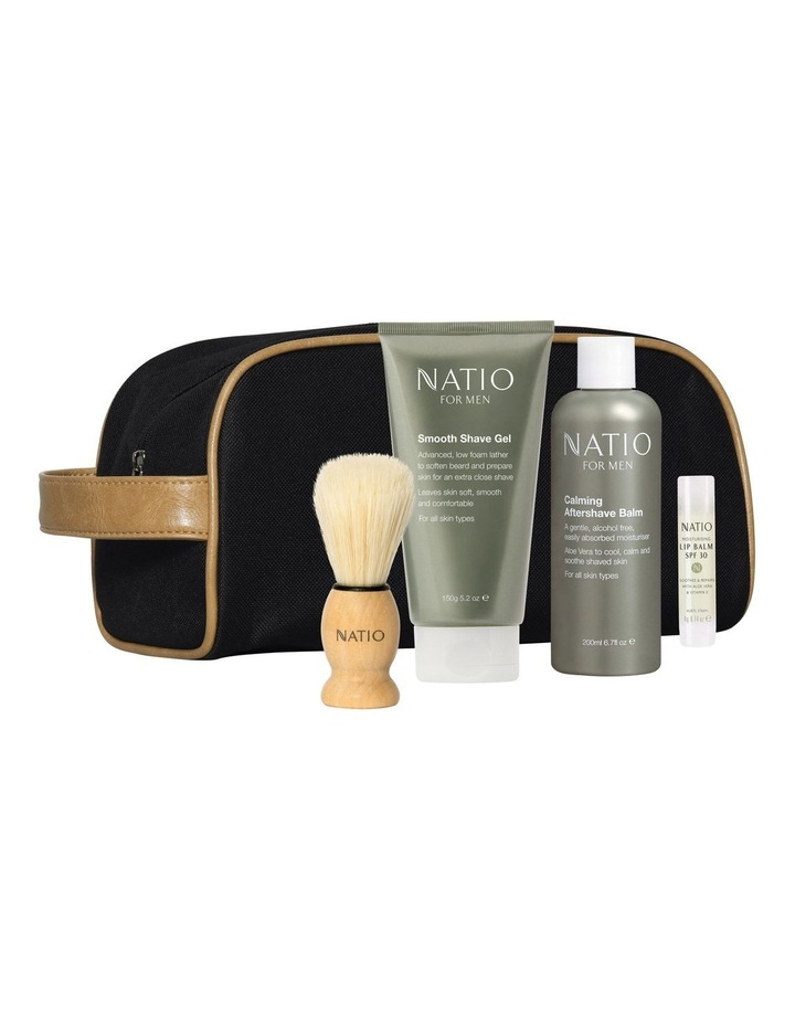 Comfortable Natio for Men 4 Piece Bag Gift Set image 1