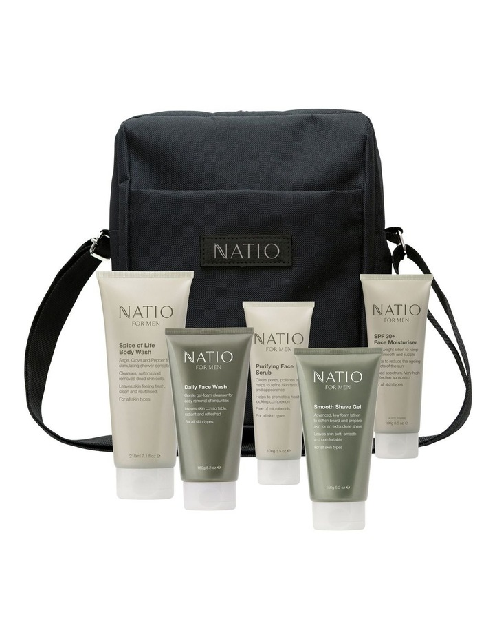 Powerhouse Natio for Men 5 piece Day Bag Gift Set image 1