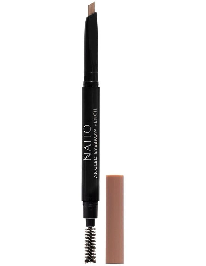 Natio Angled Eyebrow Pencil - Light Brown image 1