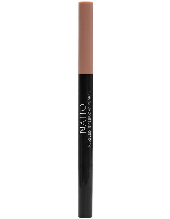 Natio Angled Eyebrow Pencil - Light Brown image 4