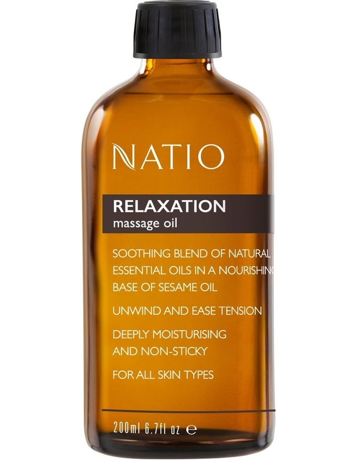 Massage Oil - Relaxation image 1