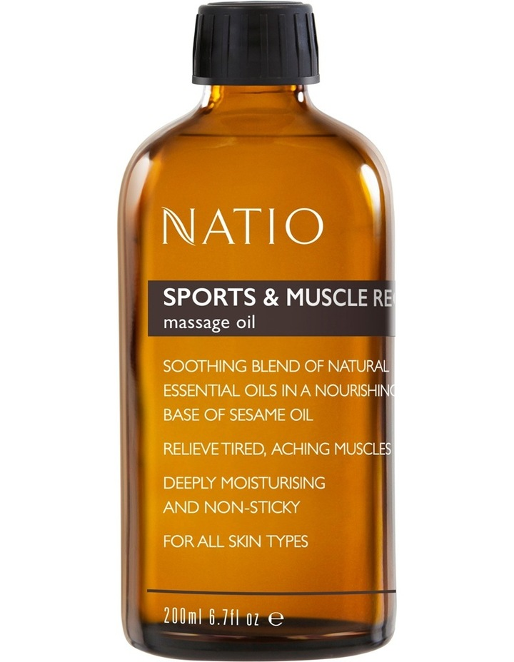 Massage Oil - Sports & Muscle Recovery image 1