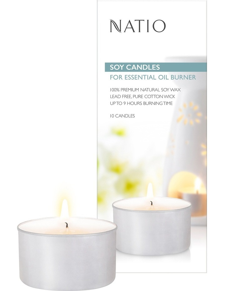 Soy Candles For Essential Oil Burner - 10 pack image 1