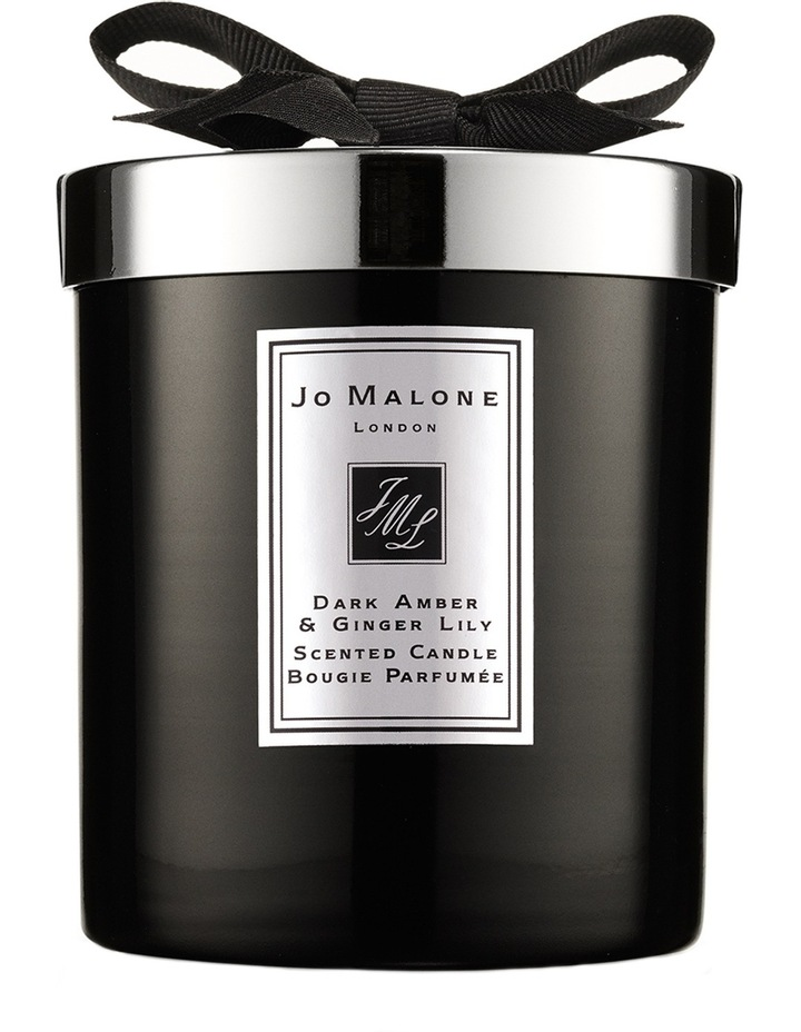 Dark Amber & Ginger Lily Home Candle image 1