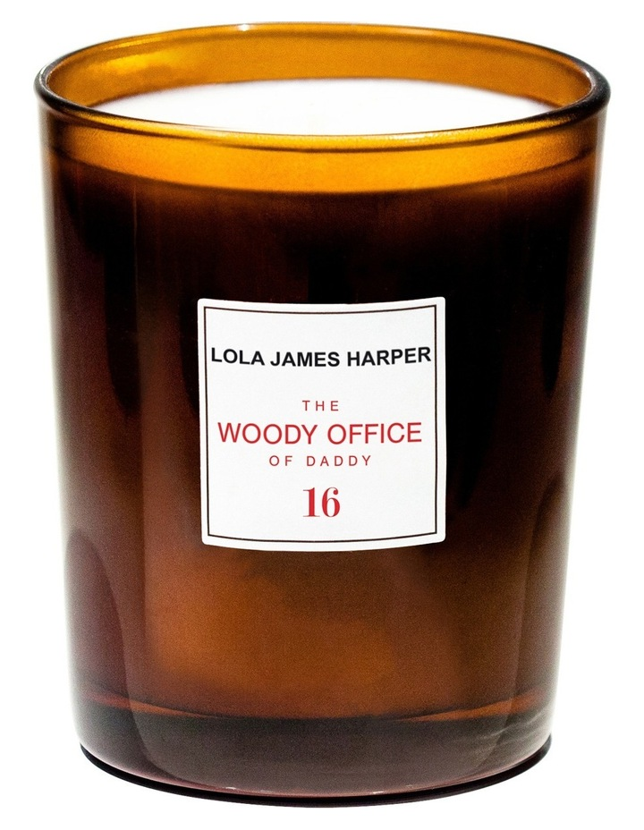 Woody Office Candle 190Gm image 2
