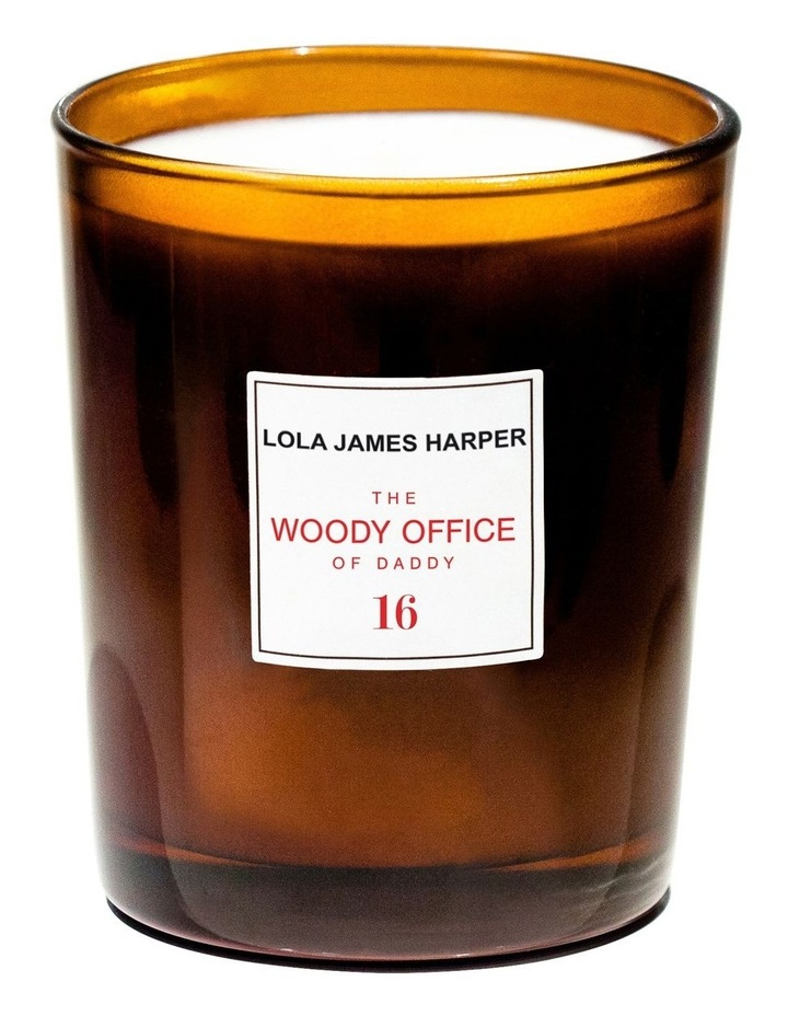 Woody Office Candle 190Gm image 1