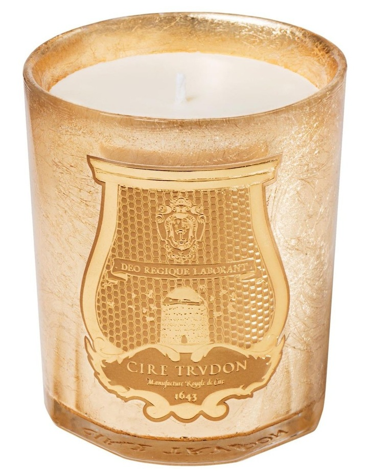 Ernesto Gold Christmas Candle 270gm image 1