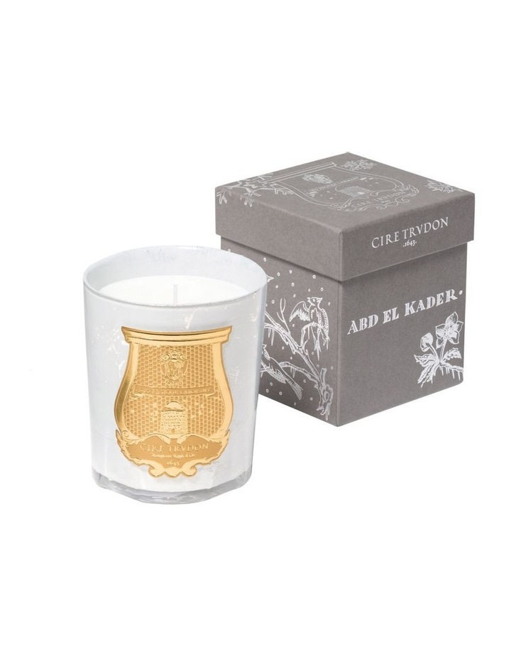 Christmas Candle Abd El Kader White 270gm image 1