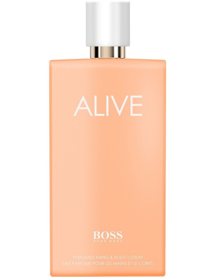BOSS Alive Perfumed Hand and Body Lotion 200ml image 1