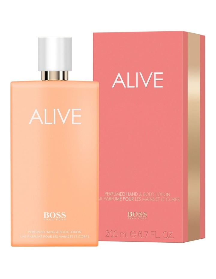 BOSS Alive Perfumed Hand and Body Lotion 200ml image 2