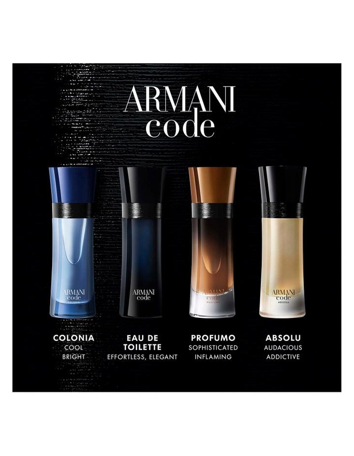 Armani Code Eau De Toilette image 5