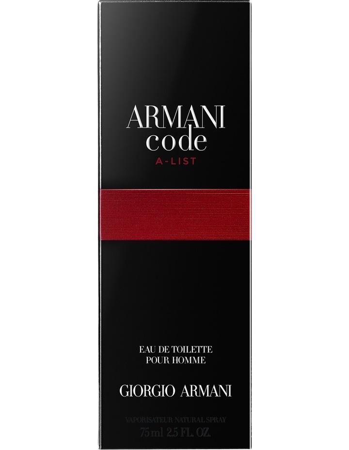 9de0243f130 Armani Code A List EDT image 4