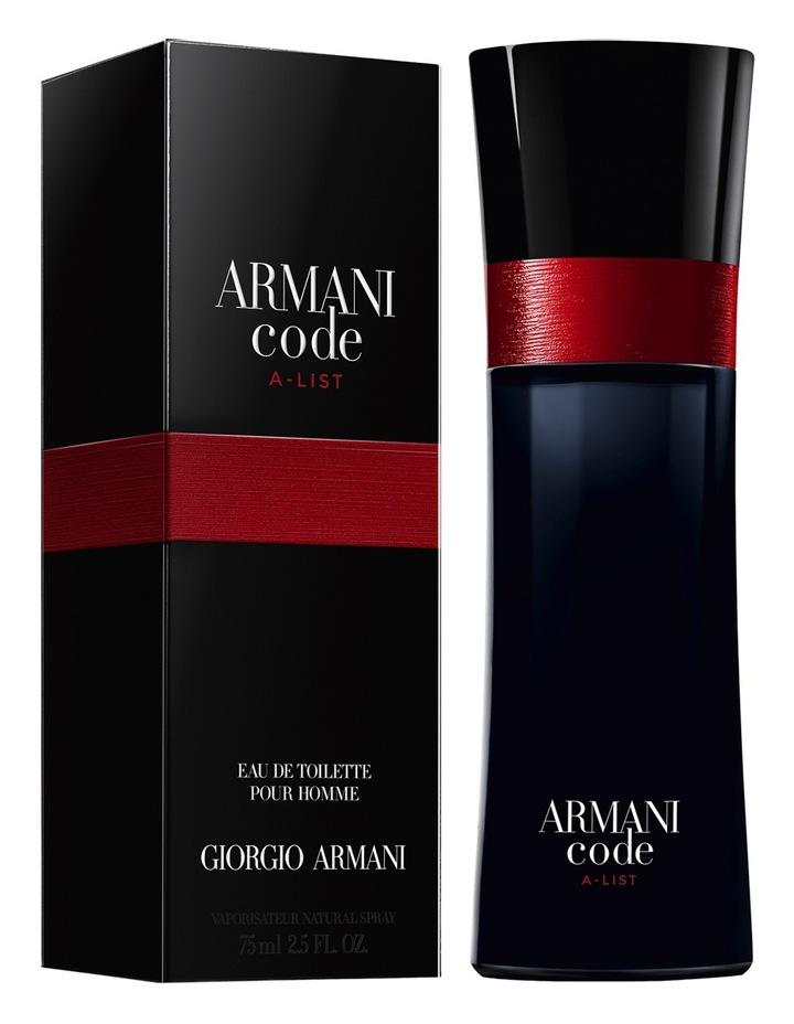 3e7f28ce876 Armani Code A List EDT image 5