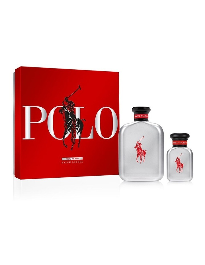 Polo Red Rush EDT 125ml Gift Set image 1