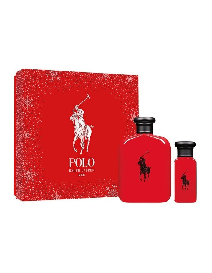 Polo Red Eau De Toilette 125ml Holiday Gift Set image 1