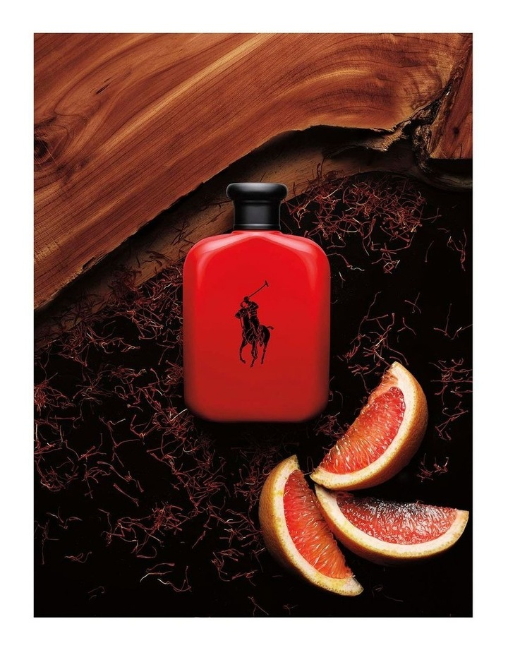 Ralph Lauren Polo Red EDT Gift Set (125ml EDT, 40ml EDT and After Shave Balm 100ml) image 2