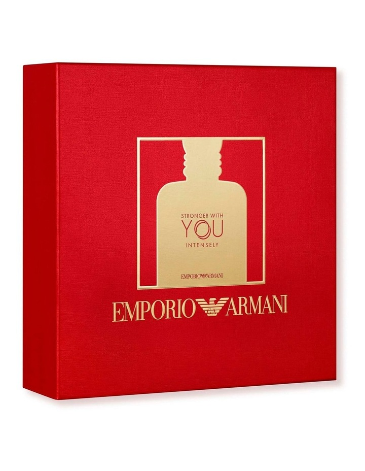 Emporio Armani Stronger With You Intense 50ml Gift Set image 3