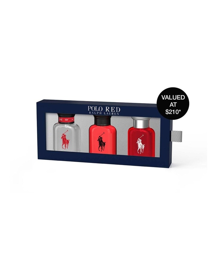 Ralph Lauren Polo Red Trio Gift Set (Polo Red EDT 40ml, Polo Red EDP 40ml and Polo Red Rush EDT 40ml) image 1