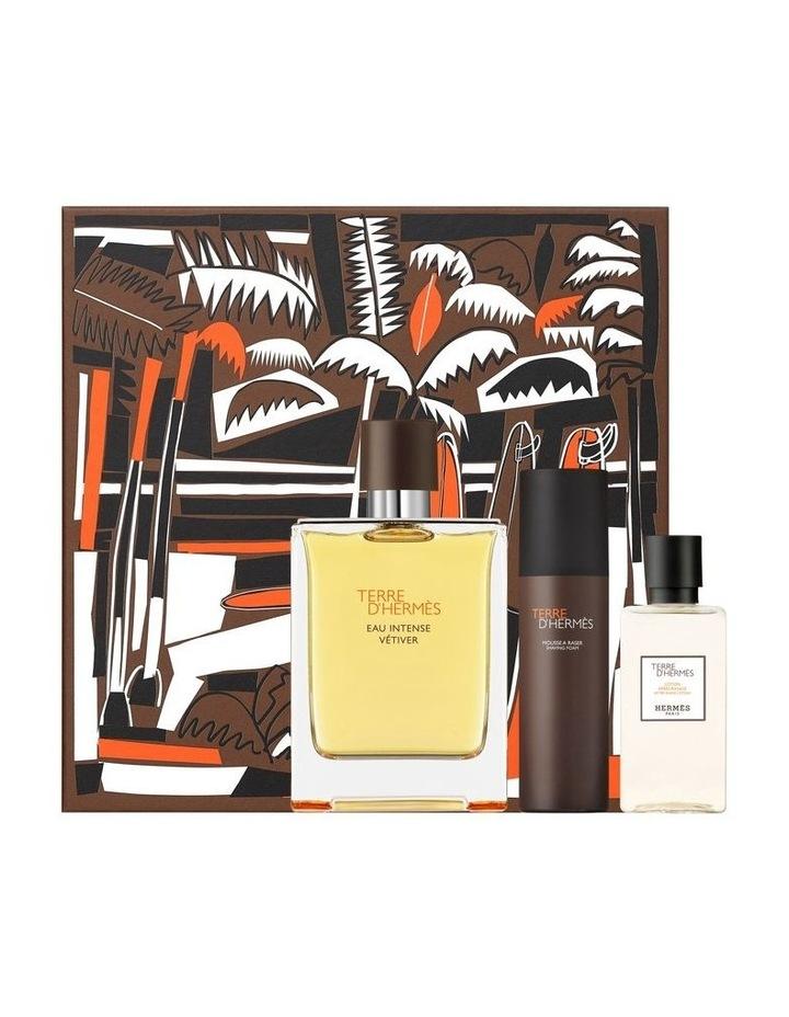Terre d'Hermès Eau Intense Vétiver Gift Set, Eau de Parfum, 100 ml image 1