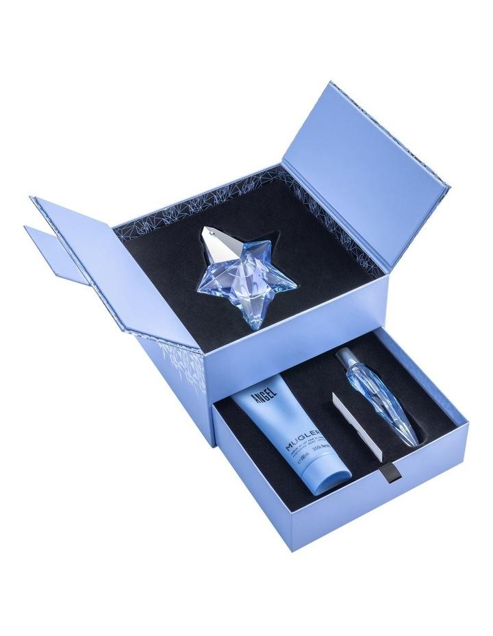 Angel Luxury Set (EDP 50ml Refillable   Body Lotion 100ml   EDP 10ml) image 2
