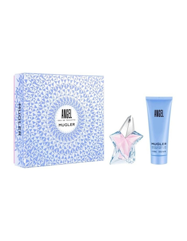 Angel EDT Set (EDT 50ml Refillable   Body Lotion 100ml) image 1