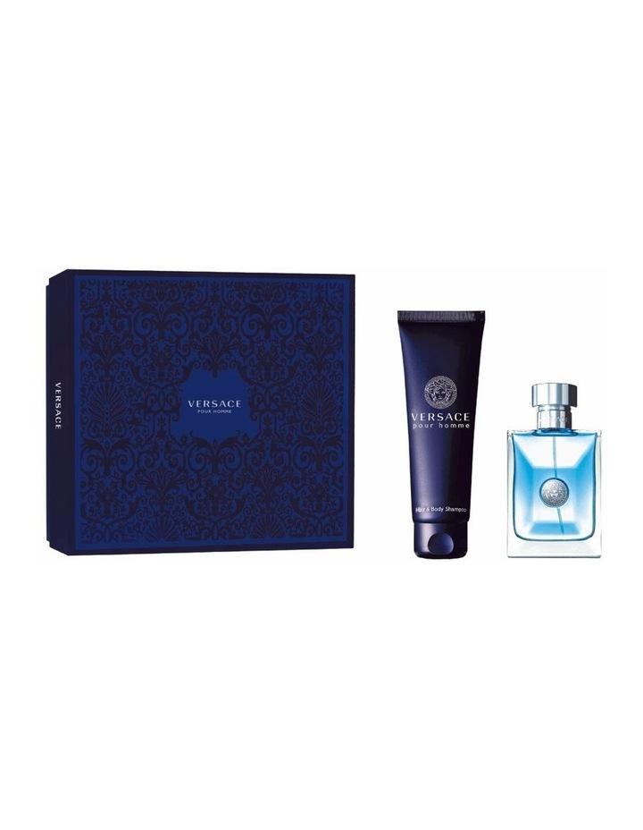 Pour Homme Set (EDT 100ml   Hair & Body Shampoo 150ml) image 1