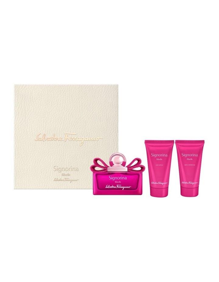 Signorina Ribelle Set (EDP 50ml   Shower Gel 50ml   Body Lotion 50ml) image 1