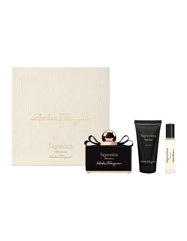 Signorina Misteriosa Set (EDP 100ml   Body Lotion 50ml   EDP 10ml) image 1