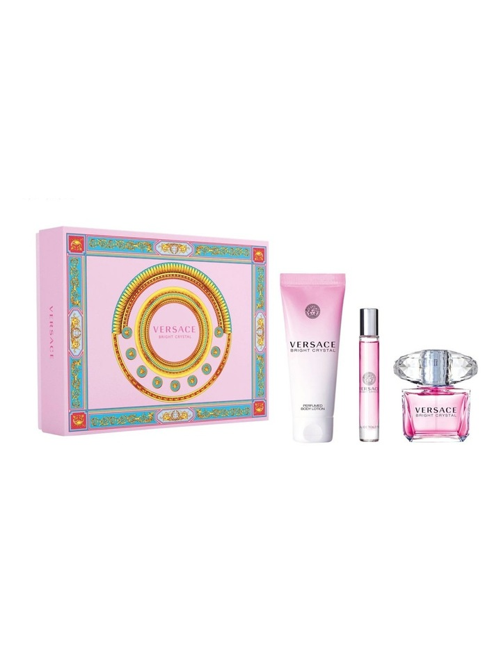 Bright Crystal Set (EDT 90ml + Body Lotion 150ml + EDT Travel Spray 10ml) image 1